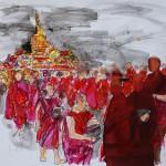 Viaggio in Myanmar Monaci