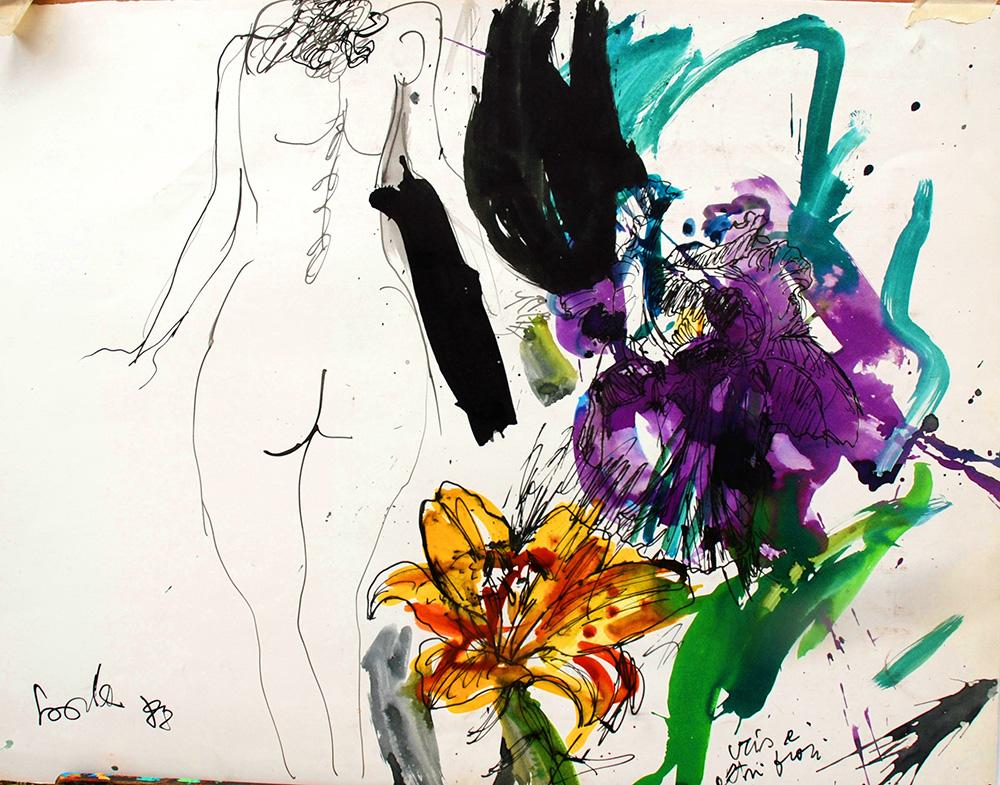 Iris e altri fiori