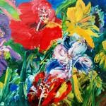 Iris e Hibisco